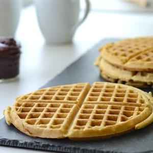 Gluten Free Oat Waffles (Ridiculously Awesome!)