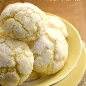 Lemon Burst Cookies {from scratch}
