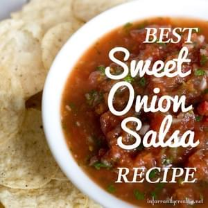 Best Sweet Onion Salsa