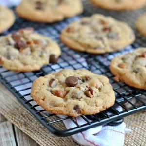 Caramel- Pecan Sticky Bun Cookies Recipe