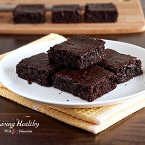 Flourless Fudgy Brownie Recipe (nut, dairy, gluten free, paleo)