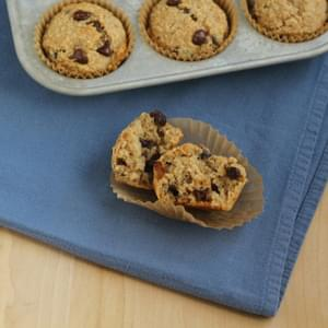 Gluten Free Banana Chocolate Chip Muffin