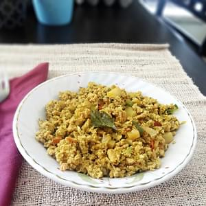Egg Bhurji Recipe (Anda Burji Recipe) – Indian scrambled eggs