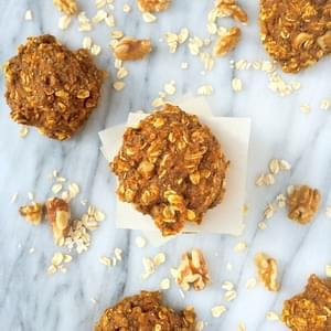 Pumpkin Oatmeal Breakfast Cookies {Gluten Free}