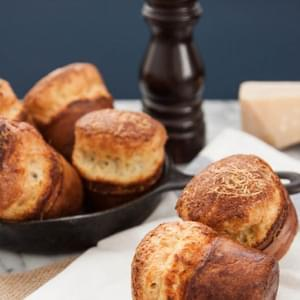 Black Pepper and Parmesan Popovers