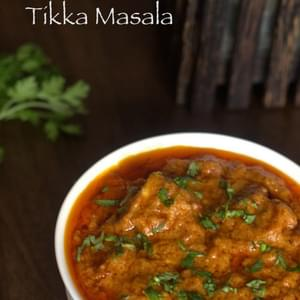 Paneer Tikka Masala – A famous Indian curry