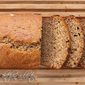 Whole Wheat Buttermilk Banana Bread