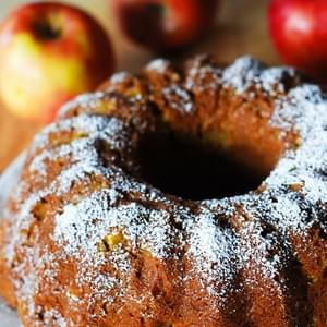 Pumpkin-Apple Spice Bundt Cake