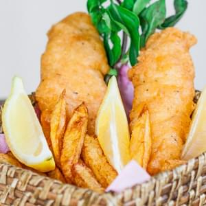 fish and chips recipe. Black Bedroom Furniture Sets. Home Design Ideas
