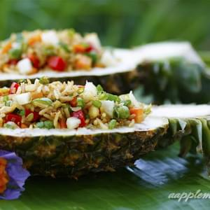 Tropical Pineapple Fried Rice