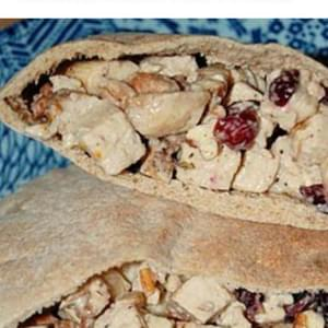Easy Chicken Salad Pita Pockets