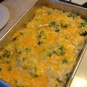 Chicken Broccoli and Quinoa Casserole