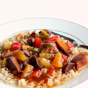 {Slow Cooker} Sweet and Sour Chicken