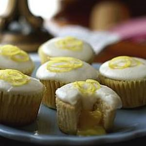 Little Lemon Curd Cupcakes
