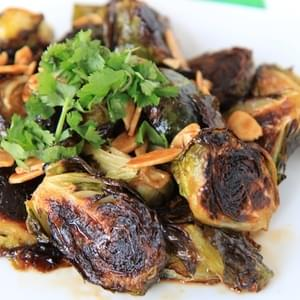 Sriracha & Honey Roasted Brussels Sprouts