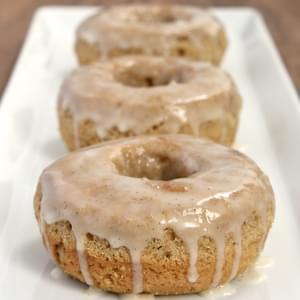 Chai Spiced Glazed Doughnut Muffins Recipe
