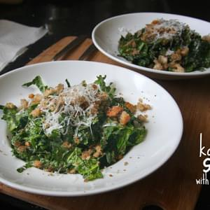 Tuscan Kale Salad with Pecorino