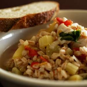 Chicken And Farro Soup
