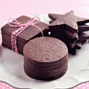 Perfect Dark Chocolate Sugar Cookies