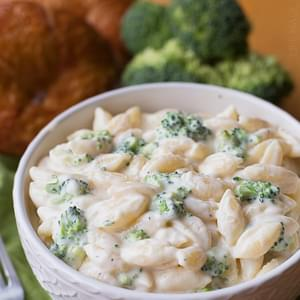 Broccoli and White Cheddar Shells