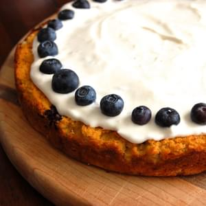 Gluten-Free Blueberry Lemon Cake