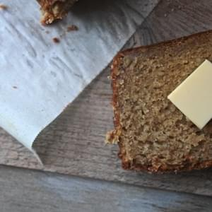 Maple Olive Oil Banana Bread