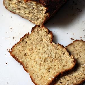 Gluten Free Oat & Honey Bread