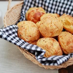 Cheese Puffs (Gougères)