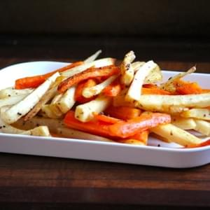 Maple Roasted Carrots & Parsnips