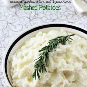 Roasted Garlic, Olive Oil & Pecorino Italian Mashed Potatoes