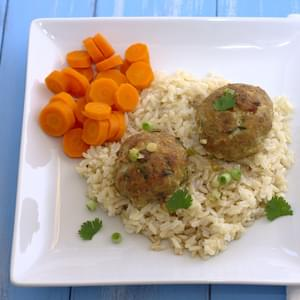 Grilled Sriracha-Sesame Turkey Meatballs Recipe