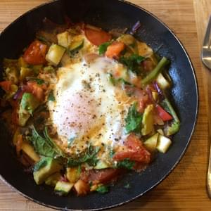 One-pan Veggie & Egg Duo