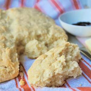Honey Greek Yogurt Biscuits