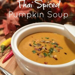 Food Babe's Thai Spiced Pumpkin Soup