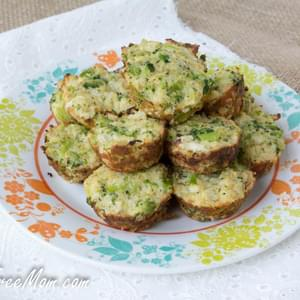 Broccoli Cauliflower Quinoa Bites