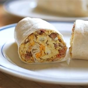 Uncle Will's Rockin' Spicy Chorizo Breakfast Wraps