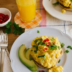 Perfect Scrambled Eggs with a Twist