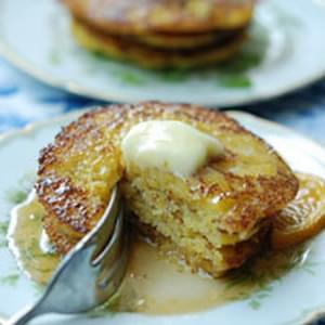 Sweet or Savory Cornmeal Pancakes