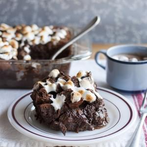 Cocoa & Toast Bread Pudding