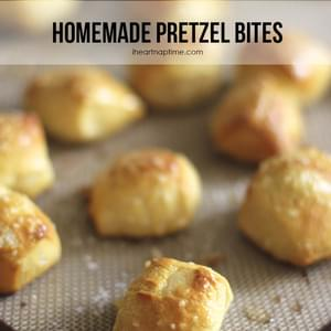 Easy Homemade Pretzel Bites