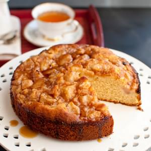 Pear And Maple Syrup Cake