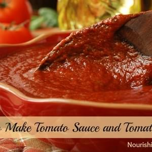 How to Make Tomato Sauce (and Tomato Paste)