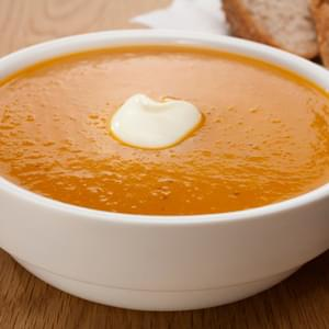 Coconut Thai Butternut Squash Soup