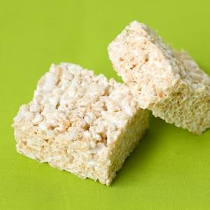 Olive Oil Rice Krispie Treats