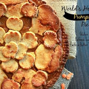World's Healthiest Pumpkin Pie