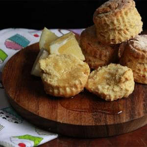 Lemon Cornmeal Biscuits
