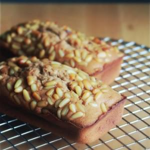 Honey Milk Tea Pine Nut Pound Cakes