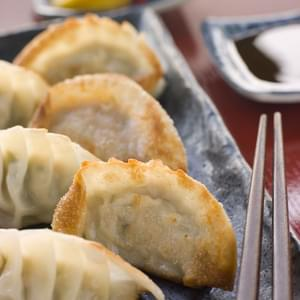 Pork And Shrimp Potstickers