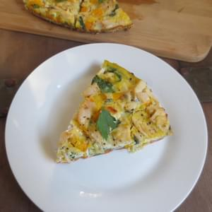 Sweet Potato Chicken and Veggie Breakfast Frittata (Gluten-Free)