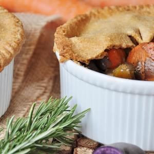 Vegan Root Vegetable Pot Pies